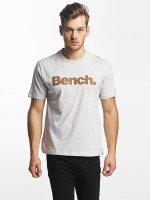 Bench T-Shirt Logo grau