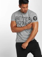 Better Bodies T-Shirt Basic Logo grau