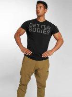 Better Bodies T-Shirt Basic Logo schwarz