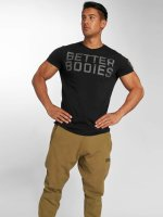 Better Bodies t-shirt Basic Logo zwart