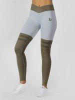 Beyond Limits Legging/Tregging Overknee Stripe gris