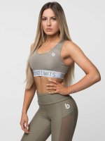 Beyond Limits Sports Bra Free Motion khaki