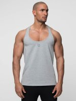 Beyond Limits Tank Tops Casual Stringer szary
