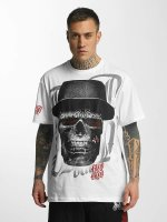 Blood In Blood Out Camiseta Out Skull Hat blanco