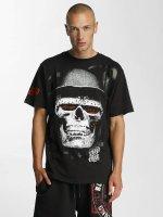 Blood In Blood Out T-Shirt Skull Hat noir