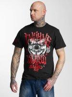 Blood In Blood Out T-Shirt Red Harlekin schwarz