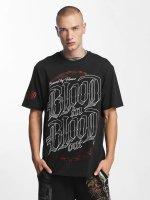 Blood In Blood Out T-Shirt Emblema schwarz
