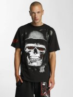 Blood In Blood Out T-Shirty Skull Hat czarny
