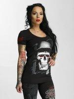 Blood In Blood Out T-skjorter Skull Hat svart