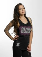 Blood In Blood Out Tank Tops Clean Logo èierna