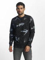 Brave Soul Swetry Sweatshirt niebieski