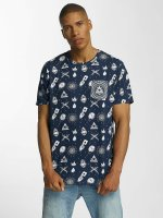 Brave Soul t-shirt All Over Print blauw