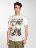 Brave Soul T-Shirt Waves weiß