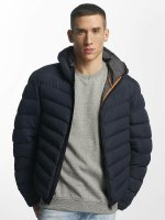Brave Soul winterjas Quilted blauw