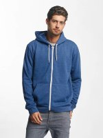 Brave Soul Zip Hoodie Through Jumper niebieski