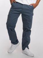 Carhartt WIP Spodnie wizytowe WIP Millington Ruck Single Knee Regular Tapered Fit niebieski