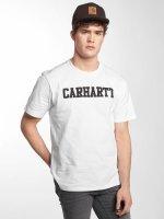 Carhartt WIP T-paidat College valkoinen