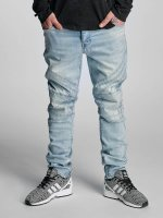Cayler & Sons Straight fit jeans Pad blauw