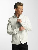 Cazzy Clang Chemise Squares blanc