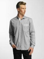Cazzy Clang Chemise Squares gris