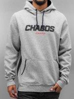 CHABOS IIVII Bluzy z kapturem Velocity szary