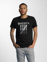 CHABOS IIVII t-shirt Omerta zwart