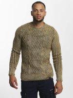 Cipo & Baxx Пуловер Mason коричневый