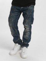 Cipo & Baxx Dżinsy straight fit Thick And Pride Classic Fit niebieski