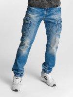 Cipo & Baxx Løstsittende bukser Thomas blå