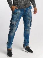 Cipo & Baxx Loose Fit Jeans Jack niebieski