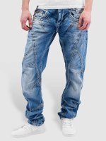 Cipo & Baxx Straight Fit Jeans Thick And Pride blau