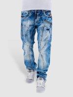 Cipo & Baxx Straight fit jeans Sinno blauw