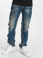 Cipo & Baxx Straight fit jeans Ekki blauw
