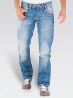 Cipo & Baxx Straight fit jeans Igor Classic blauw