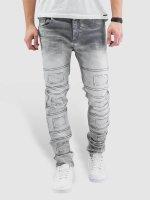 Cipo & Baxx Straight Fit Jeans Louis grau