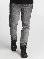 Cipo & Baxx Straight Fit Jeans Pelto grau