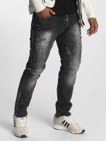 Cipo & Baxx Straight fit jeans Tom grijs