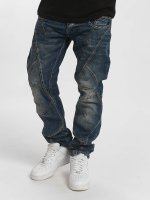 Cipo & Baxx Straight Fit Jeans Thick And Pride Classic Fit modrý