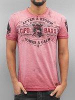 Cipo & Baxx T-Shirt After A Storm red