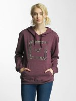 Cleptomanicx Hoody Floral Box violet