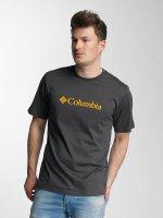 Columbia T-Shirt CSC Basic Logo grau