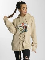 Criminal Damage Hoody Escher Lace beige