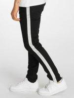 Criminal Damage Skinny Jeans Tape czarny