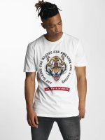 Criminal Damage T-Shirt Battle blanc