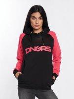 Dangerous DNGRS Bluzy z kapturem Jelly pink