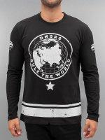 Dangerous DNGRS Camiseta de manga larga Rule The World negro