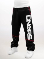Dangerous DNGRS Spodnie do joggingu Crosshair Baggyfit Sweat Pants czarny