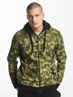 Dangerous DNGRS Sweat capuche zippé Classic camouflage