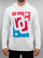 Dangerous DNGRS T-Shirt manches longues Logo Race City blanc
