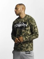 Dangerous DNGRS T-Shirt manches longues Topping camouflage